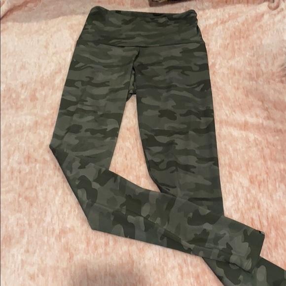 onzie full length high rise leggings camo